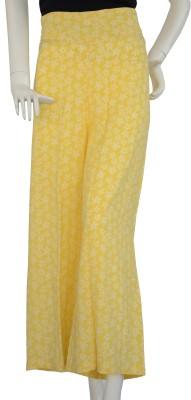 Jupi Regular Fit Women,s Yellow, White Trousers