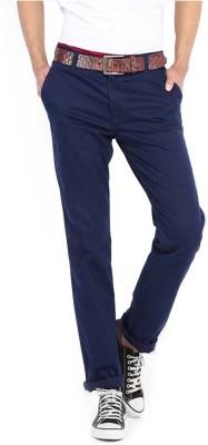 Good Karma Men's Blue Trousers