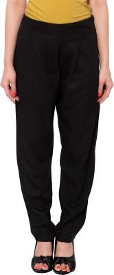 SFDS Regular Fit Women's Black Trousers