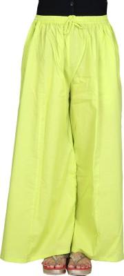 Chhipaprints Regular Fit Women's Light Green Trousers
