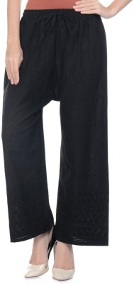 Aarushi Fashion Regular Fit Women's Black Trousers