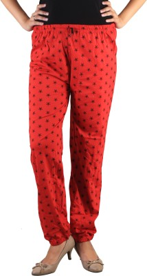 indian street fashion Regular Fit Women,s Red Trousers