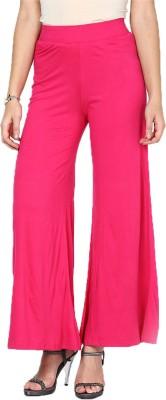 Shopping Queen Regular Fit Women's Pink Trousers