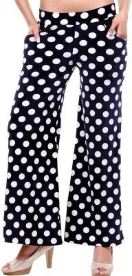 Clotone Regular Fit Women's Black Trousers