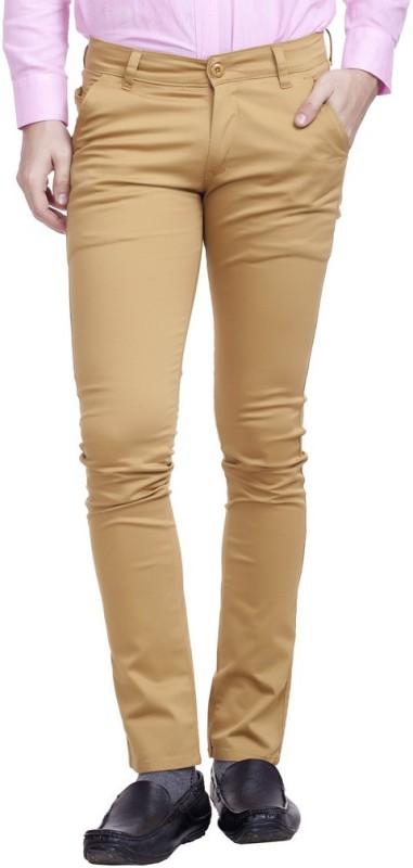 Nimegh Slim Fit Men's Red Trousers