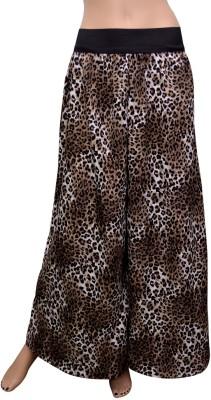 GraceDiva Regular Fit Women's Black, Brown Trousers