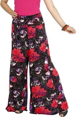 Sringar Regular Fit Women's Black Trousers
