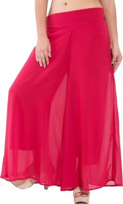 Decot Paradise Slim Fit Women's Pink Trousers