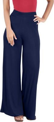 hbhwear Regular Fit Women's Blue Trousers