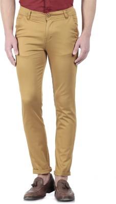 Flyjohn Slim Fit Men's Beige Trousers