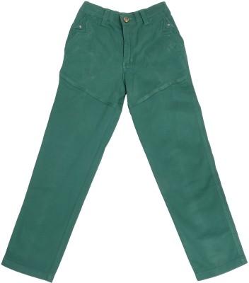 Boyhood Slim Fit Boy's Green Trousers