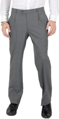 Follow Up Slim Fit Men's Grey Trousers