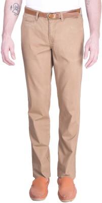 Celio Regular Fit Men's Brown Trousers