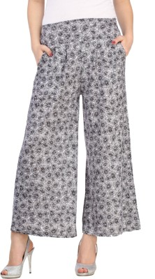 Aksara Regular Fit Women's Black Trousers