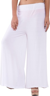 MAGNUS Slim Fit Women,s White Trousers