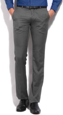Arrow Slim Fit Mens Grey Trousers