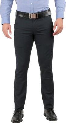 Oxemberg Slim Fit Men's Grey Trousers