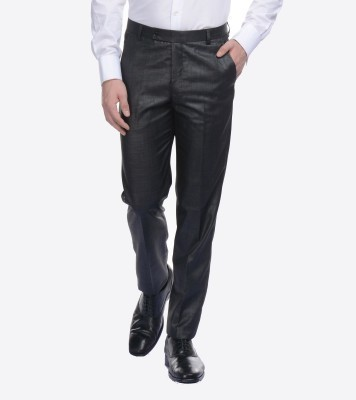 CORBIN Slim Fit Men's Grey Trousers