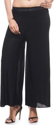 Addyvero Regular Fit Women's Black Trousers