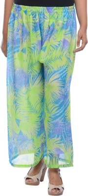Lavennder Regular Fit Women's Green Trousers