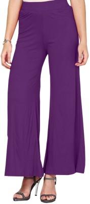 Softwear Women's Purple Trousers