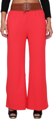 LGC Regular Fit Women's Orange Trousers