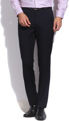 Arrow Newyork Slim Fit Men's Dark Blue Trousers