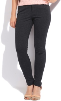 Vero Moda Slim Fit Women's Grey Trousers