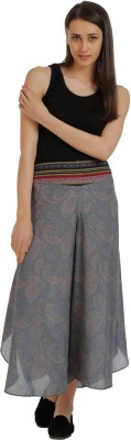 Holidae Regular Fit Women,s Grey Trousers