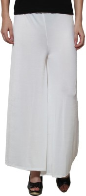Both11 Regular Fit Womens White Trousers