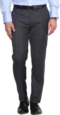 GIVO Slim Fit Men's Grey Trousers