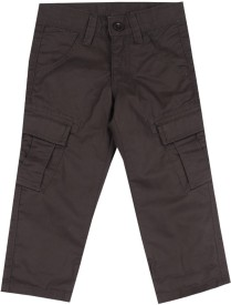 United Colors of Benetton Boys Brown Trousers