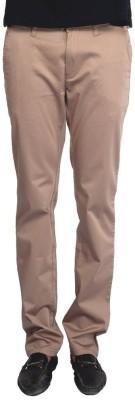 Provogue Slim Fit Men's Beige Trousers