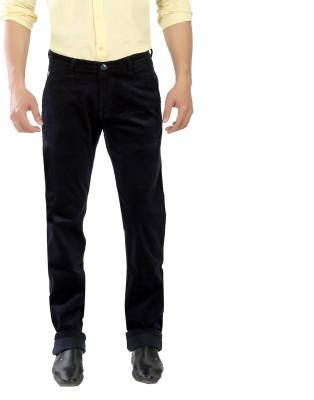Scotlane Regular Fit Men's Black Trousers
