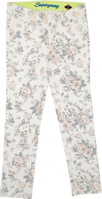 SuperYoung Girl's White Trousers