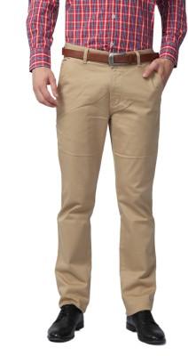Sparky Slim Fit Men's Beige Trousers