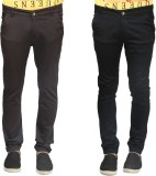 Trendy Trotters Regular Fit Men's Black,...