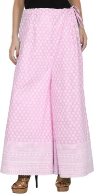 Pink n Lime Regular Fit Women's Pink Trousers