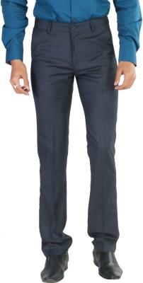 Provogue Regular Fit Men's Blue Trousers