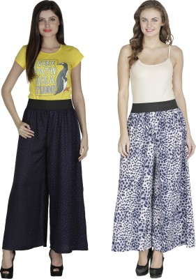 Shopingfever Regular Fit Women's Dark Blue, Blue Trousers
