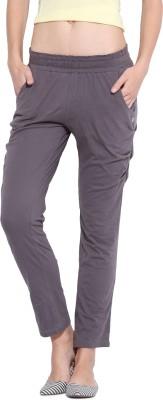 Porsorte Regular Fit Women's Grey Trousers
