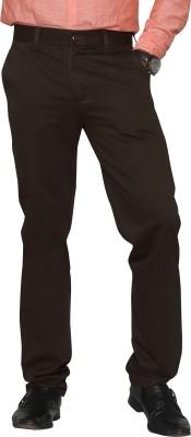 Canoe Regular Fit Men's Brown Trousers