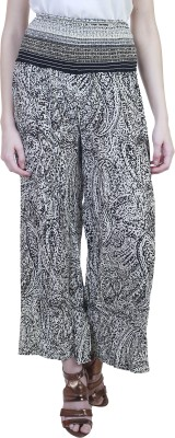 Showoff Slim Fit Women's Black Trousers