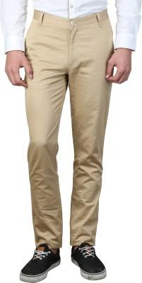 MAGNOGUY Slim Fit Men's Beige Trousers
