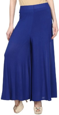 Edge Plus Regular Fit Women's Blue Trousers