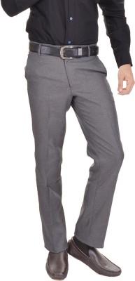 AD & AV Regular Fit Mens Grey Trousers