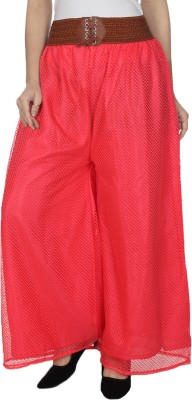 Dimpy Garments Regular Fit Women's Pink Trousers