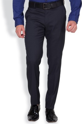 Black Coffee Regular Fit Men's Black Trousers