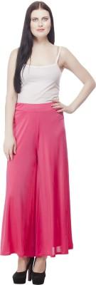 Selfie Regular Fit Women's Pink Trousers