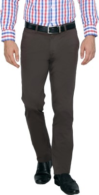 FN Jeans Regular Fit Men's Grey Trousers